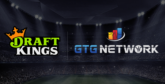 DraftKings and Genius Tech Group logos